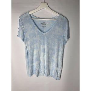American Eagle Women's Tye Dye Tee Shirt Size S